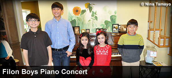 The Filon Boys Piano Benefit Concert