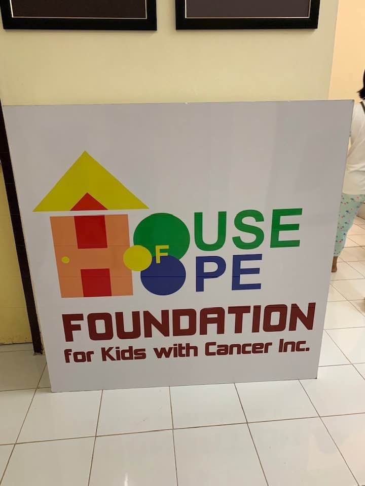 House of Hope Foundation for Kids with Cancer, Davao City